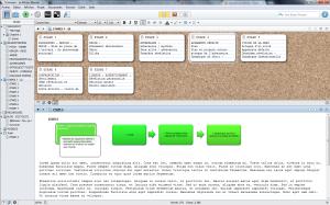 L'interface ergonomique de Scrivener autorise une totale liberté dans la gestion du projet